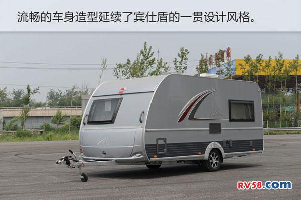 2016款宾仕盾450TS拖挂式房车 国内首发