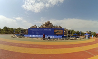 首届丝绸之路(嘉峪关)国际房车博览会 展会现场