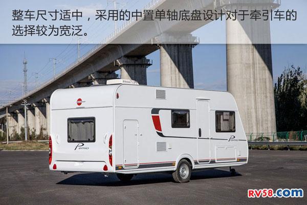 宾仕盾2016款PREMIO 495拖挂房车实拍