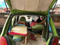 牛人用奇瑞QQ改成房车,睡4个人给你看!