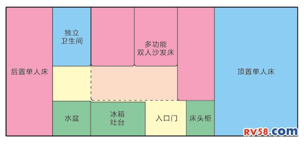 梦之旅牛刀Plus F 平面图