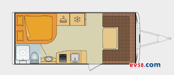 诺优营地版T22拖挂平面图