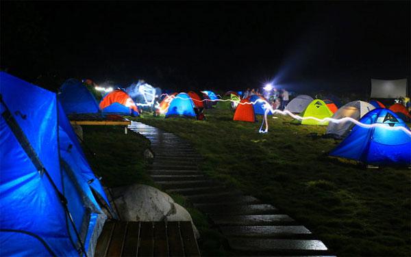 帐篷露营选择一个合适的宿营地