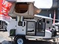 小汽车就能拉 能做饭睡4人的越野拖挂房车 售价不到4万元