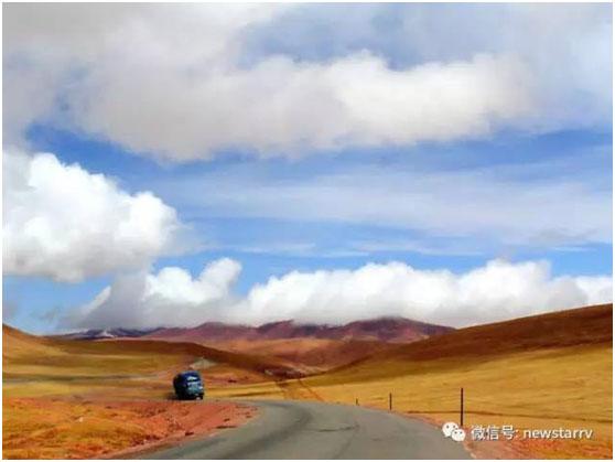 拉萨之旅-新星进口依维柯送车小队已行驶到青藏线