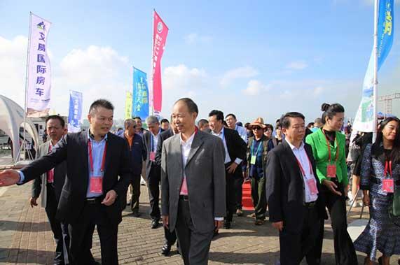2017海南国际房车(汽车)露营休闲旅游博览会海口开幕