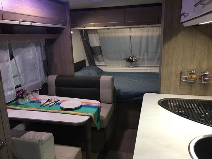 法国卡莱尔486拖挂房车优惠3万 年底特价