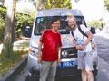 66岁的宁波老王开着房车带老伴穿越欧洲