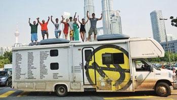不可掉头自驾房车环球旅行  52个月113个国家