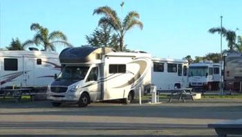 感受加州海边的房车营地-真正的美国房车游(一)