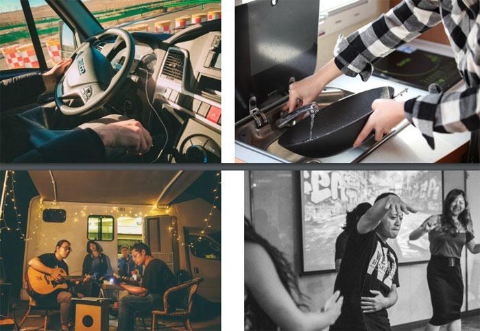几个年轻人与一辆房车 开启不一样的文艺旅行