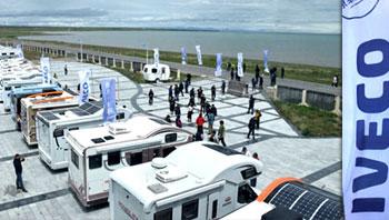 2018进口依维柯房车品牌探索之旅暨首届青海湖房车旅游文化节成功举办