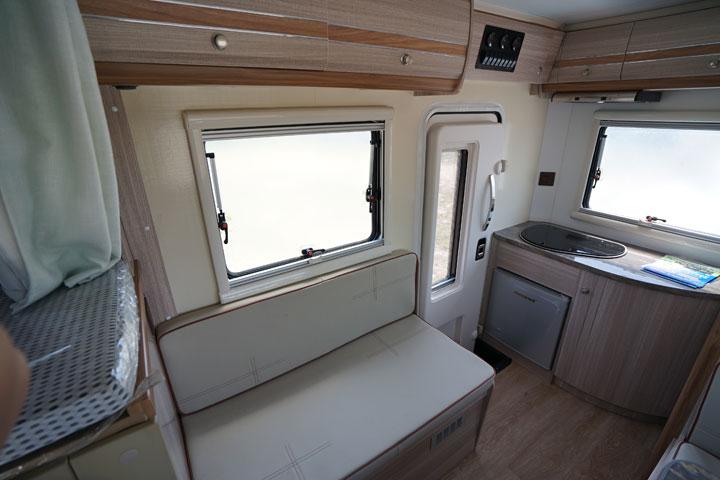 中昊黄海N3双排皮卡房车