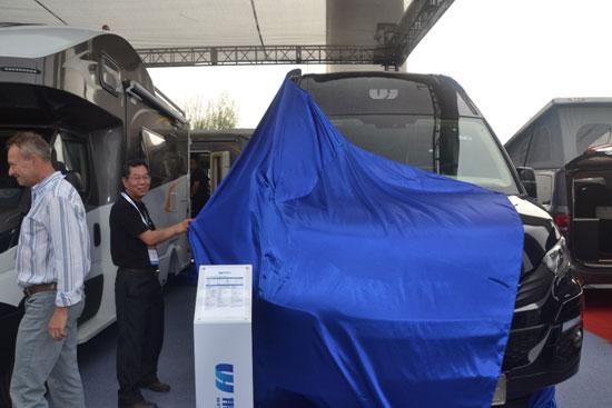 伟昊汽车5款新品房车首发上市