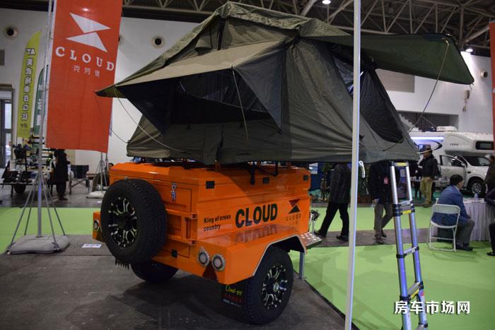 克劳德帐篷拖挂房车售价为3万