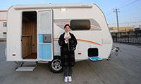 欧式工艺,标配2米大床,爱旅拖挂房车380版上市